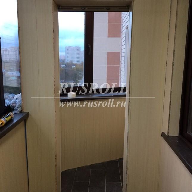 Рольставни на балкон, ольгино.