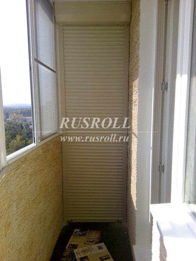 Рольставни на балкон в городе балашиха..
